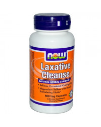 Laxative Cleanse 100 капсули I Now Foods